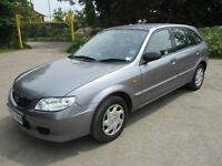 2003 52 MAZDA 1.6 323F GXI FULL MOT ICE COLD AIR CON 2 KEEPERS FROM NEW CD PLAYER PX SWAPS