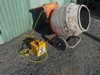 Belle Minimix 150 Cement Mixer 110v with Transformer