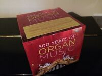 500 years of organ music, 50 CD box set by Brilliant Classics