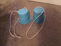 Kids bucket stilts