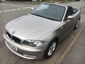 BMW 118 Covertible Silver 2009