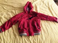 Boys Next Red Raincoat 4yrs, good condition from pet and smoke free home