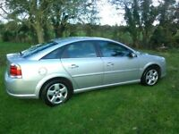 vauxhall vectra 1.8 petrol exclusive 1 owner from new low mileage