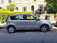 Silver Nissan Note 1.4