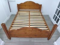 DUCAL KING SIZE SOLID WOODEN BED FRAME