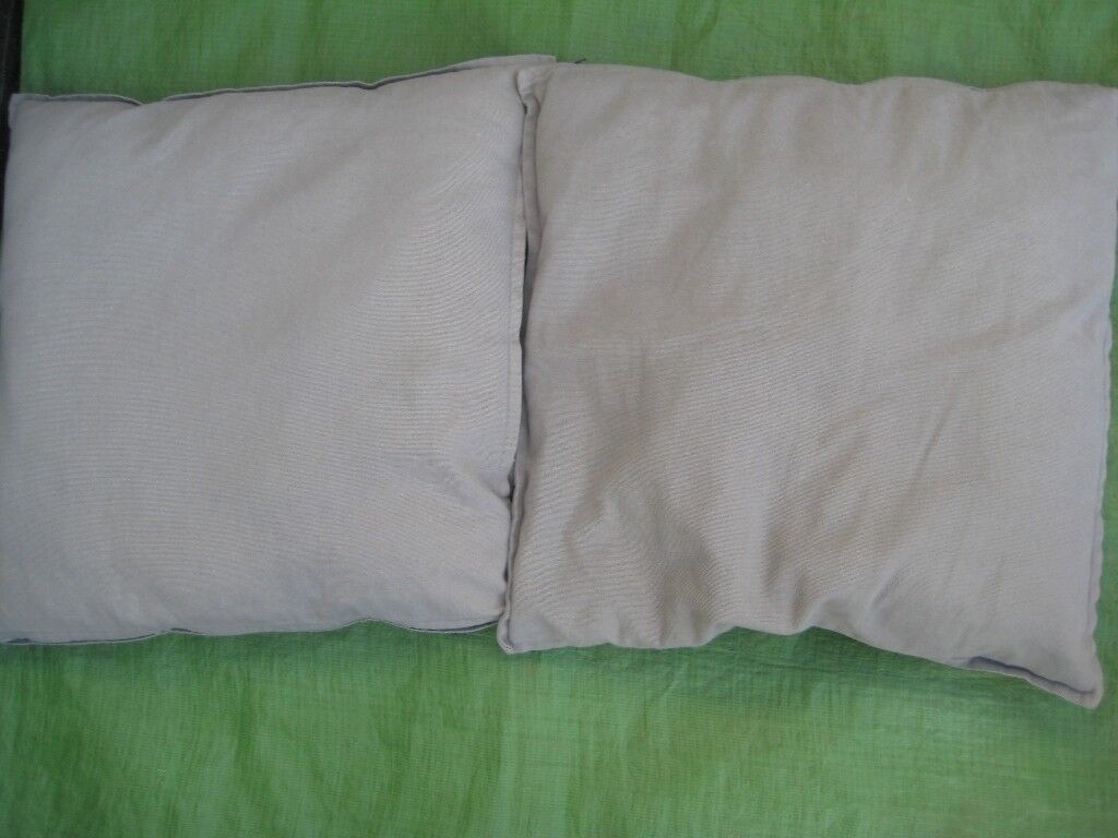 2 Grey Cushions