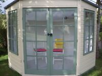 SUMMERHOUSE DOUBLE DOORS