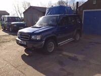 Isuzu Trooper Citation 3l Diesel Good condition all round
