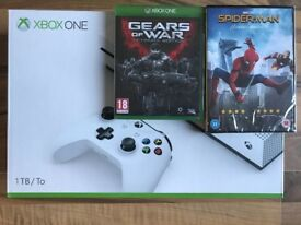 xbox one s 1tb console,5 games full dls & dvd ,everything new & sealed ! PRICE STANDS ! SWAP PS4 VR