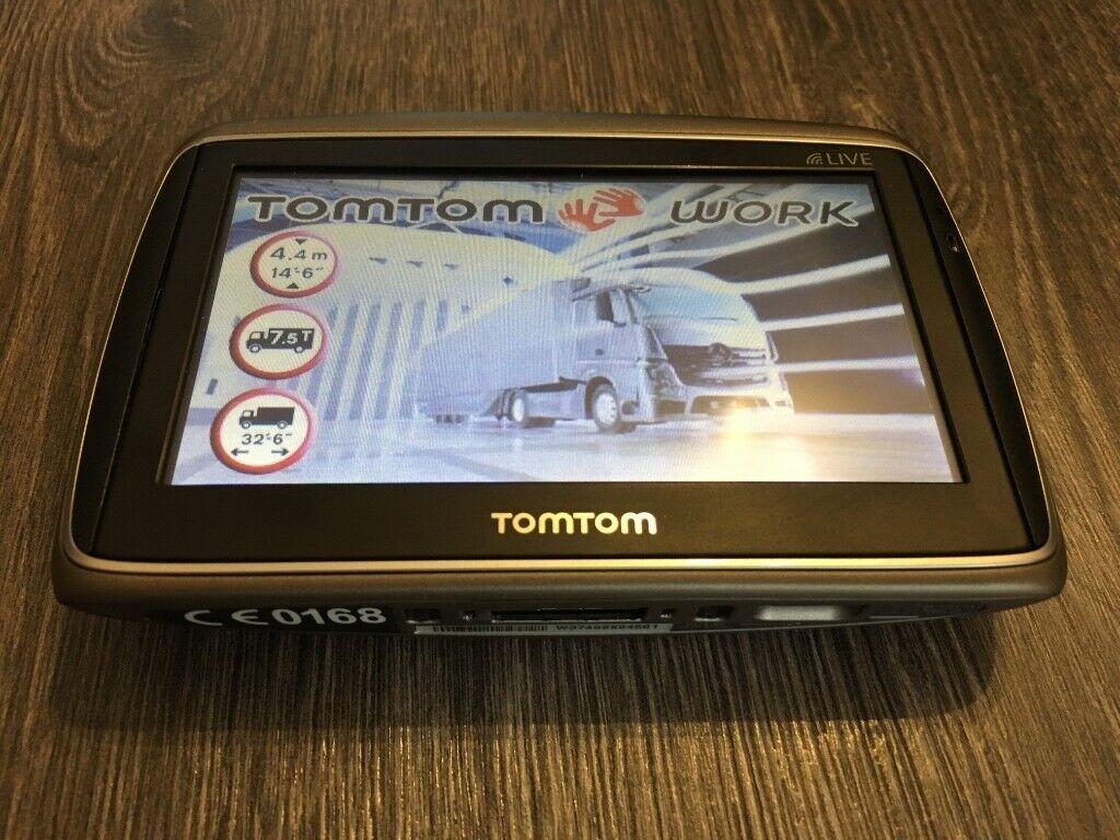 TomTom Go 550 LIVE for Truck, Van, Coach, Taxi, Car, Full Europe, NEW MAPS  1030 | in Dagenham, London | Gumtree