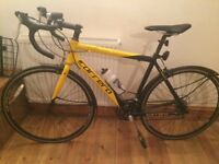 "As NEW carrera ""road pro"" unmarked yellow & black Ltd edition"