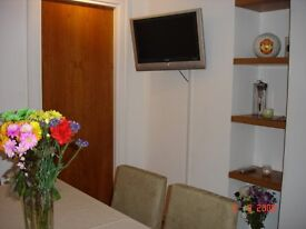 Lovely single room with double bed