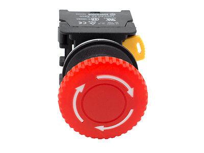3 ZB2-BE102 PUSH STOP TWIST TO RELEASE TELEMECANIQUE RED MUSHROOM  ESTOP W