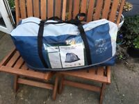 TRESPASS GO FURTHER TWO MAN TENT WITH CARPET - USED ONCE. EXCELLENT CONDITION!