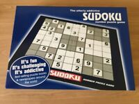 Sudoku number puzzle board game