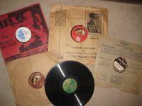 10 x 78 rpm records 1920's 1930's (Batch 6) dance, song music, comic, Yehudi Menuhin child prodigy