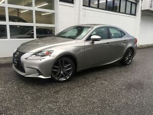 2014 Lexus IS 250 F Sport! Navigation! Only 29000kms!