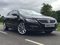 Volkswagen CC GT TDI 2.0L Automatic Diesel Black Leather