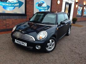 MINI HATCH 1.4 One Hatchback 3dr Petrol Manual (138 g/km, 95 bhp) (black) 2008