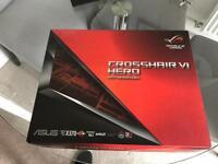 ASUS Republic of Gamers Crosshair Hero 6 motherboard . AMD boxed