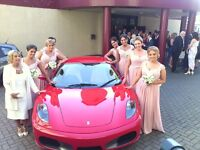 Super Car wedding Transport