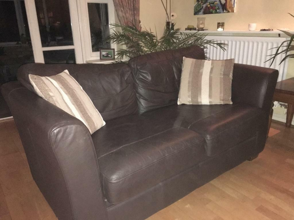 Magnificent Next Leather Sofa In Southwater West Sussex Gumtree Pdpeps Interior Chair Design Pdpepsorg