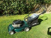 Hayter ranger 21' cut self propelled mower alloy deck cost £1000