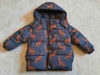 Baby clothes bundle, 18-24 months winter coat, jacket, fleece and Gillet, immaculate condition