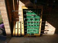 Foosball table seeks new home!