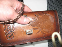 leather purse wallet from New Zealand