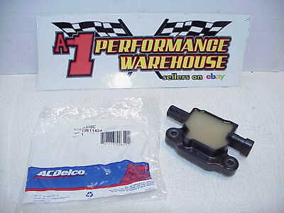 1 NEW AC Delco High Performance Ignition Coil Pack D510C GM #12611424 LS- Row II