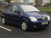 VAUXHALL MERIVA AUTOMATIC 2006 (55 REG)*£999*VERY LOW MILES*LONG MOT*PX WELCOME*DELIVERY