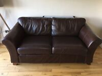 Marks and Spencer's Abbey Leather Sofa.