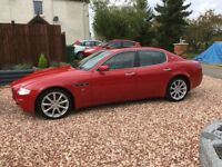 2004 Maserati Quattroporte LHD Red 27,000 miles
