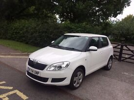 2014 SKODA FABIA SE 12V WHITE CAT D FULLY REPAIRED 7,000 MILES EXCELLENT CONDITION DRIVES GREAT
