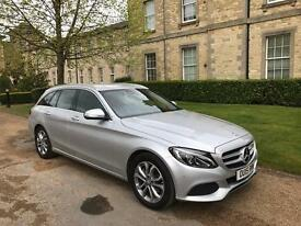 2015 MERCEDES C200 ESTATE VERY LOW MILES IMMACULATE
