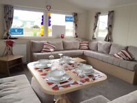 Double Glazed Central Heated Caravan on family park in North Wales