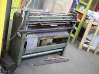 "Air Operated Edwards GUILLOTINE ( sheet metal ,approx 39.5"")"