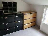 Office furniture , cabinets and desktops . Need to go asap , not free, contact for negociation