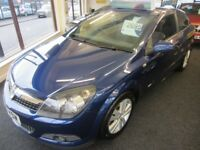 VAUXHALL ASTRA 1.6 i 16v SXi Sport Hatch 3dr (blue) 2008