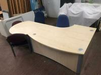Maple Reception Desk - Large