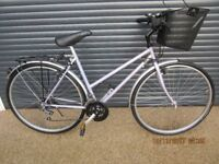 LADIES CLAUD BUTLER SHOPPING BIKE IN ALMOST NEW LITTLE USED CONDITION. (MAKE IDEAL PRESENT).