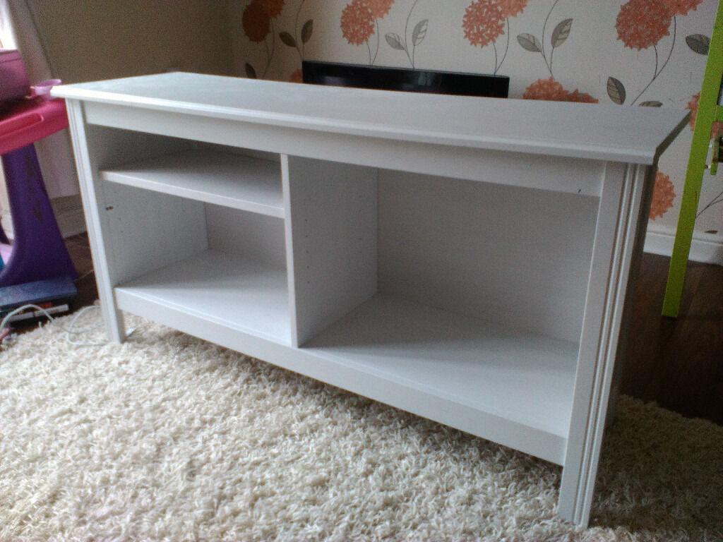 Ikea Brusali Tv bench white in Nottingham  : 86 from www.gumtree.com size 1024 x 768 jpeg 128kB