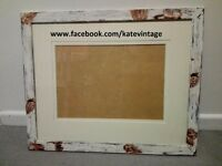 hand decorated photo frame