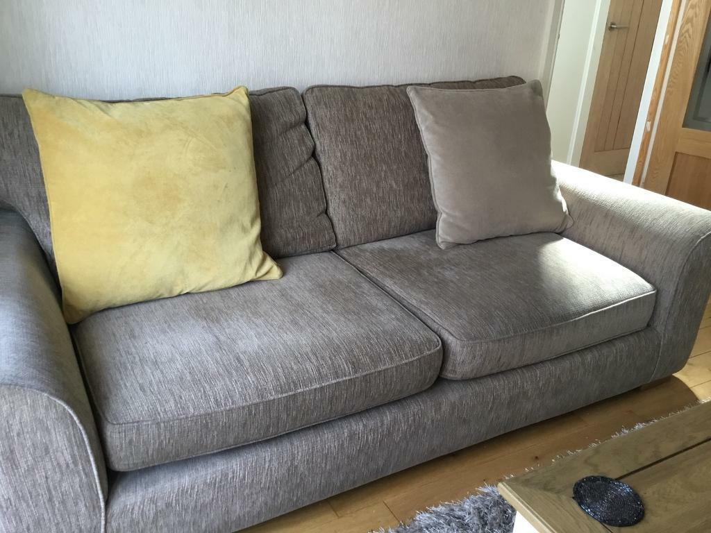 Furniture Village Lonsdale 3 Seater Sofa And 2 Bed