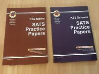 Science and Maths SATS Practice Papers unused