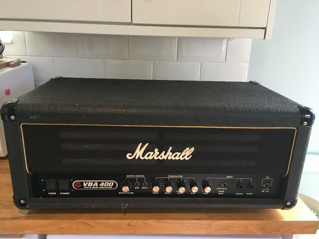 marshall vba 400 bass amp in whitchurch cardiff gumtree. Black Bedroom Furniture Sets. Home Design Ideas