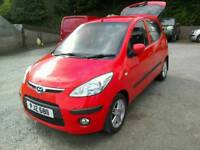 09 Hyundai i10 5 door Comfort Full Mot oct18 road Tax£30 One owner ( can be viewed inside anytime)