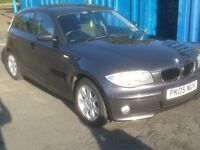 BMW 1 SERIES 1.6i SE 5 DOOR, NEW MOT, SERVICE HISTORY, MPV/USB STEREO, GOOD CONDITION THROUHOUT