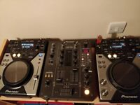 Pioneer DJM 400 Mixer, in perfect working condition